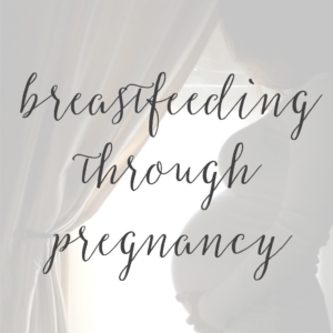 Breastfeeding Through Pregnancy