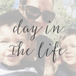 Day in the Life of a Stay At Home Mom Blogger