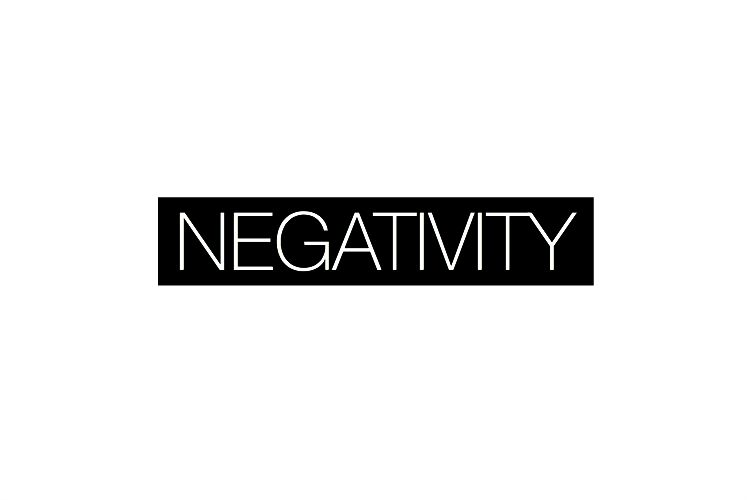 Negativity Knocked and I Answered
