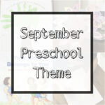 "September Preschool Theme + Printable ""All About Me"" Booklet"