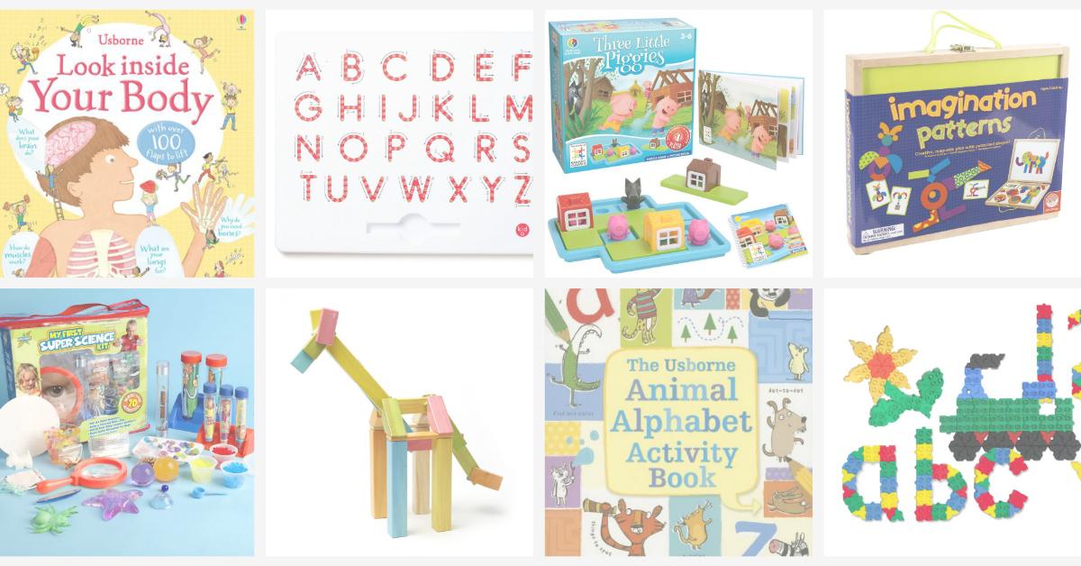 Educational gift ideas for preschoolers - Pig & Dac